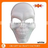 Wholesale Halloween Mask White Plastic Halloween Scary Clown Mask