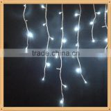 BEST New 3.5M 96 LED Fairy Lights Curtain Icicle Starry String Lights for Bedroom Christmas New Year Home Garden Wedding