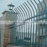 PVC Coated Spear Top Zinc Steel Tubular Fence in Garden,Home,Factory, School ,Villa(Factory & Exporter)