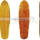 "26"" mini bamboo cruiser skateboard decks"