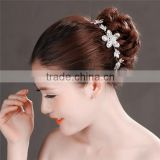 MYLOVE Sparking Crystal Rhinestone Pearl Headband Silver Wedding Party Tiara Hair band Bridal Hair Accessories Flower MLF132