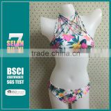 2015 summer style push up triangle bikini set,Custom Swimwear Bikini Women Sexy Bikini Set Swimsuit