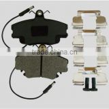 Dis brake pad GDB400 spare parts FR with woven shim