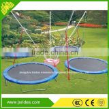 Hot sale kids ride backyard bungee trampolines with cheap price