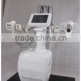 2014 newest, 1000W Velashape + laser + RF+ BIO + cavitation slimming vacuum suction machine / cellulite suction machine