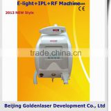 2013 New Design Multi-Functional Beauty Equipment Medical E-light+IPL+RF Machine Air Pressure Clothes Skin Care