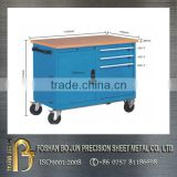 Custom adjustible economy electronic work bench