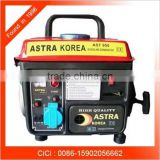 AST950 Manual gasoline generator , 950w Mini portable home use generator , ASTRA KOREA 950 2hp gasoline generator
