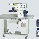 Auto Leather Edge Folding Gluing Machine