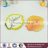 yellow leaf porcelain board with clear vein