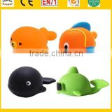 fish baby bathing toys, vinyl small lovely fish shower toys, Floating Rubber Fish Bath Toy
