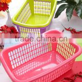 Useful plastic storage basket, baskets in bulk