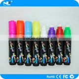 Alibaba hot sale promotional double tipped ink marker pen / plastic fluorescent ink marker pen