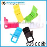 The cheapest samples in stock silicone holder, watching movie stander, cell phone sticker