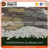 Turtle back network sandstone crazy pattern cheap paving stone best selling products in america