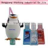 Orginal&Fashion&Popular monster 3D carton bath body works silicone hand sanitizer pockectbac holder