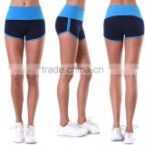 Fancy Sportswear 95% Cotton 5% Spandex High Waisted 2-TONE Basketball Shorts Fabric Sublimated Jogger Workout Shorts
