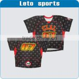 sublimation lacrosse shooter shirts with custom design