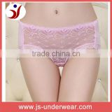 hot hot sexy front lace full thin chiffon design sexy ladies sheer nylon panties