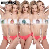 2017 sexy bikini women spa 6 color crystal swimsuit female swimsuit outlet