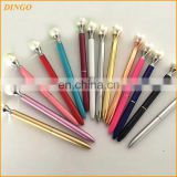 New Arrival Small MOQ 50pc Can Order Top grade Business Gift Ball Pen Big Diamond Crystal pearl pen