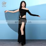 T-5203 Sexy lady women belly dance top and skirt set