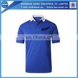 Promotional custom mens polo shirt with logo