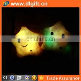 wholesale colorful lucky star shining led light pillow led star shape light throw pillow