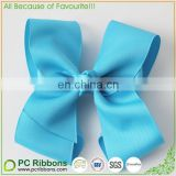 6 inch big ribbon hair bows