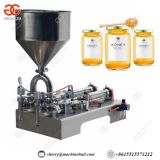 Semi Automatic Honey Filling Machine, Sauce Bottle Filling Machine Manufacturer