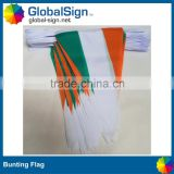 Polyester Hanging Triangle Flags