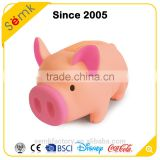 Cute pig shape orange electronic piggy bank with coin counter & sound
