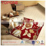High quality hand woven home useful machine washable carpet rug