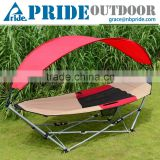 Folding Sun Shade Leisure Ways Outdoor Leisurely Rocking Chairs Hanging Garden Rocking Chair