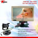 RV-7200V Car heavy duty reversing camera rear vision back up rear view system for vechicles