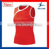 best selling promotional sleeveless volleyball jersey