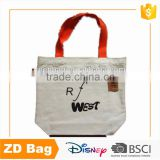 Wholesales Cotton Tote Bag Fabric Canvas Shopping Bag
