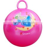38cm inflatable space kids hopper/jumping ball/ bounce ball