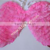 Baby Shower Party Supplies Pink Duck Feather Angel Wings Wholesale