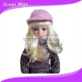 synthetic hair doll wig