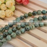 Natural gemstone African Turquoise 4mm to 12mm round loose beads