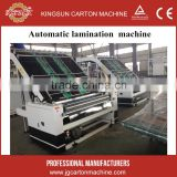 Corrugated paperboard laminating machine/Full automatic flute laminator machine for corrugated cardboard
