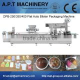 Automatic Food Blister Packing Machine For candy chocolate dairy milk butter cheese