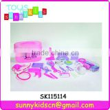 19PCS toys doctor play set with pink box