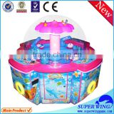 Hot sell rainbow paradise mini toy grab machine small claw machine