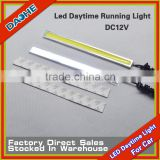 LED Daytime Running Light DC 12V White for Car Motorcycle Truck Safe Drive 2 Years Warantee New Product