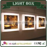 ring box with led light waterproof and anti-rust CE UL RoHS LED lighting wall mounted,ceiling hanging
