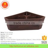 Morden Design Square Type wooden finish plastic ABS sofa leg                                                                                                         Supplier's Choice