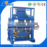 WANTE BRAND QT40-1small scale but high profit manual block machine                                                                                                         Supplier's Choice