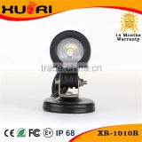 On sale Crees 10W LED Light/ Car LED Work Lamp/DC 12v Led Work Lamp for Motor, Bike can work in the underwater